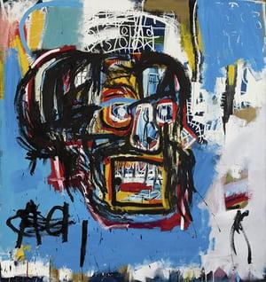 Basquiat - 'untitled 1982'