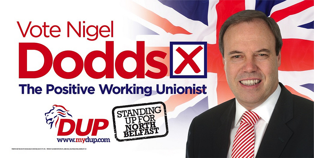 DUP campaign poster