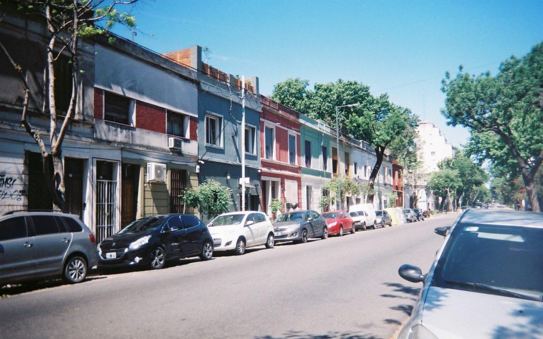 Palermo, Argentina landscape