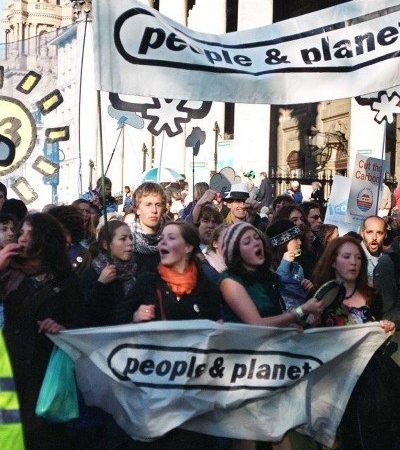 people&planet, environmental change, campaign