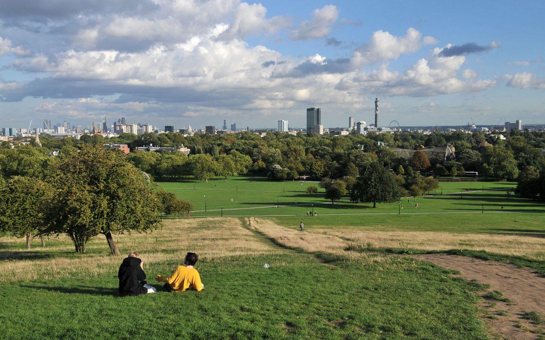 Primrose Hill, London, Parks, Green