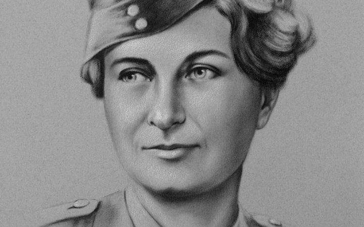 Portrait of Susan Travers