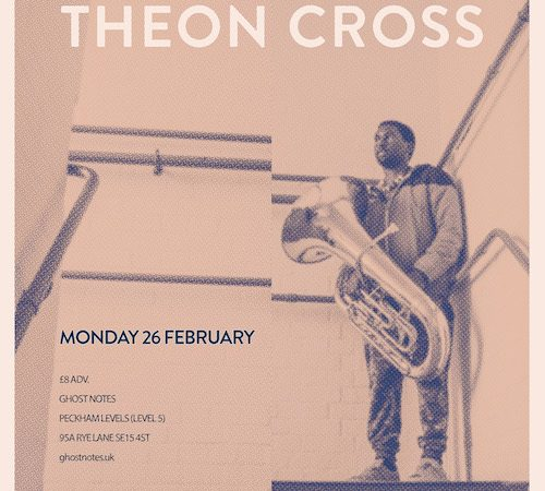 Promotional Poster - Theon Cross// Ghost Notes