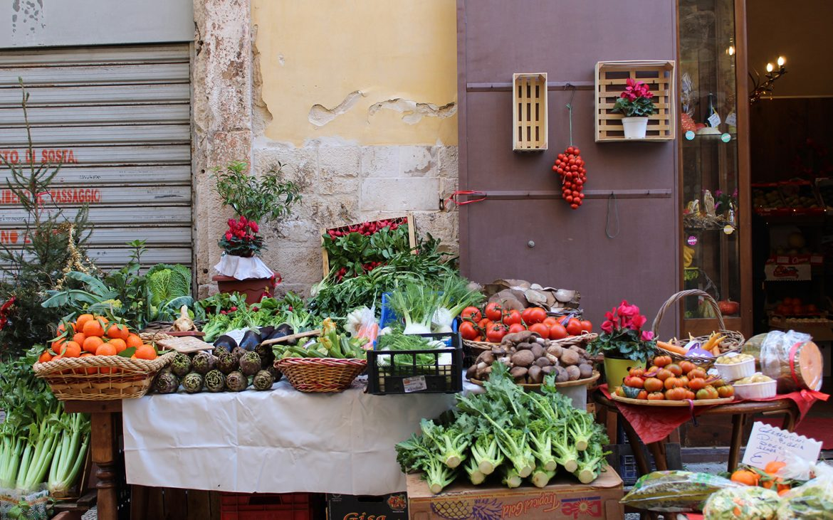 Local products in Bari, Puglia