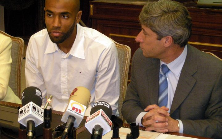 Kanoute conference