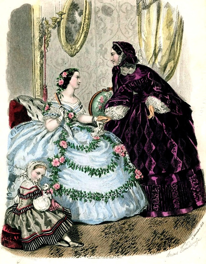 19th century, fashion