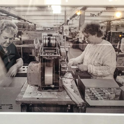 Women working in Lesney factory