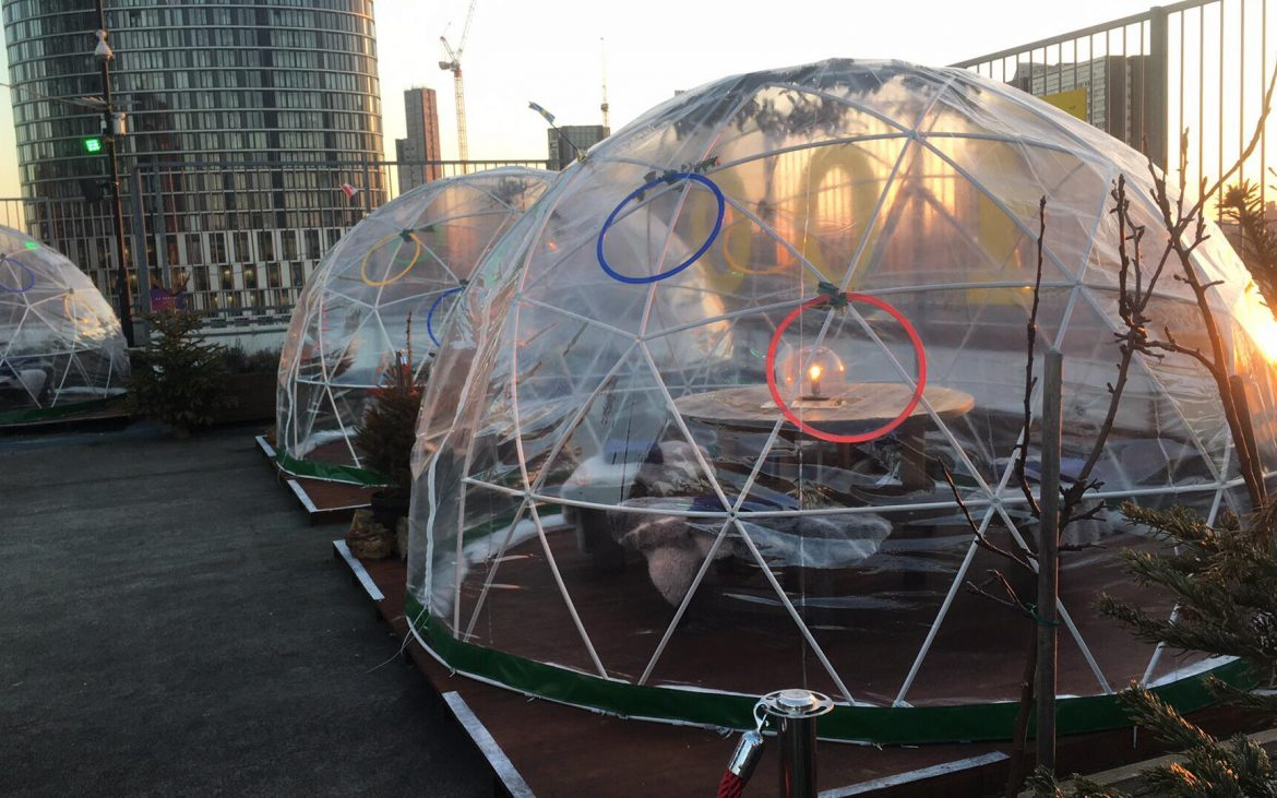 Igloos at Roof East