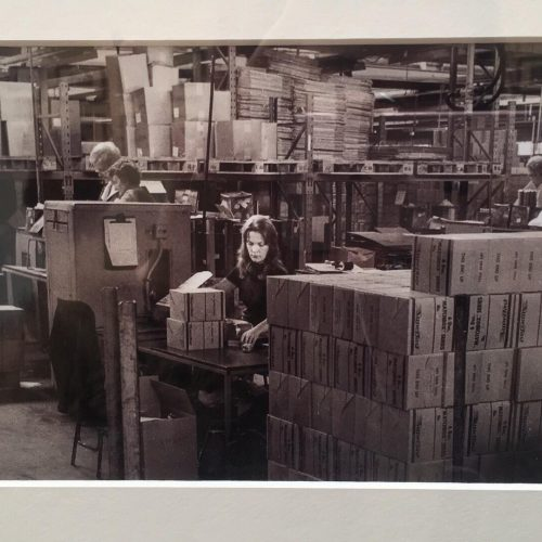 Women working in Lesney factory Photo: Neil Martinson