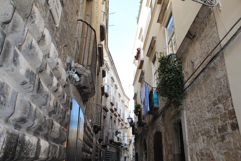 Streets of Bari, puglia