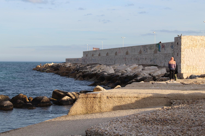 Bari coast
