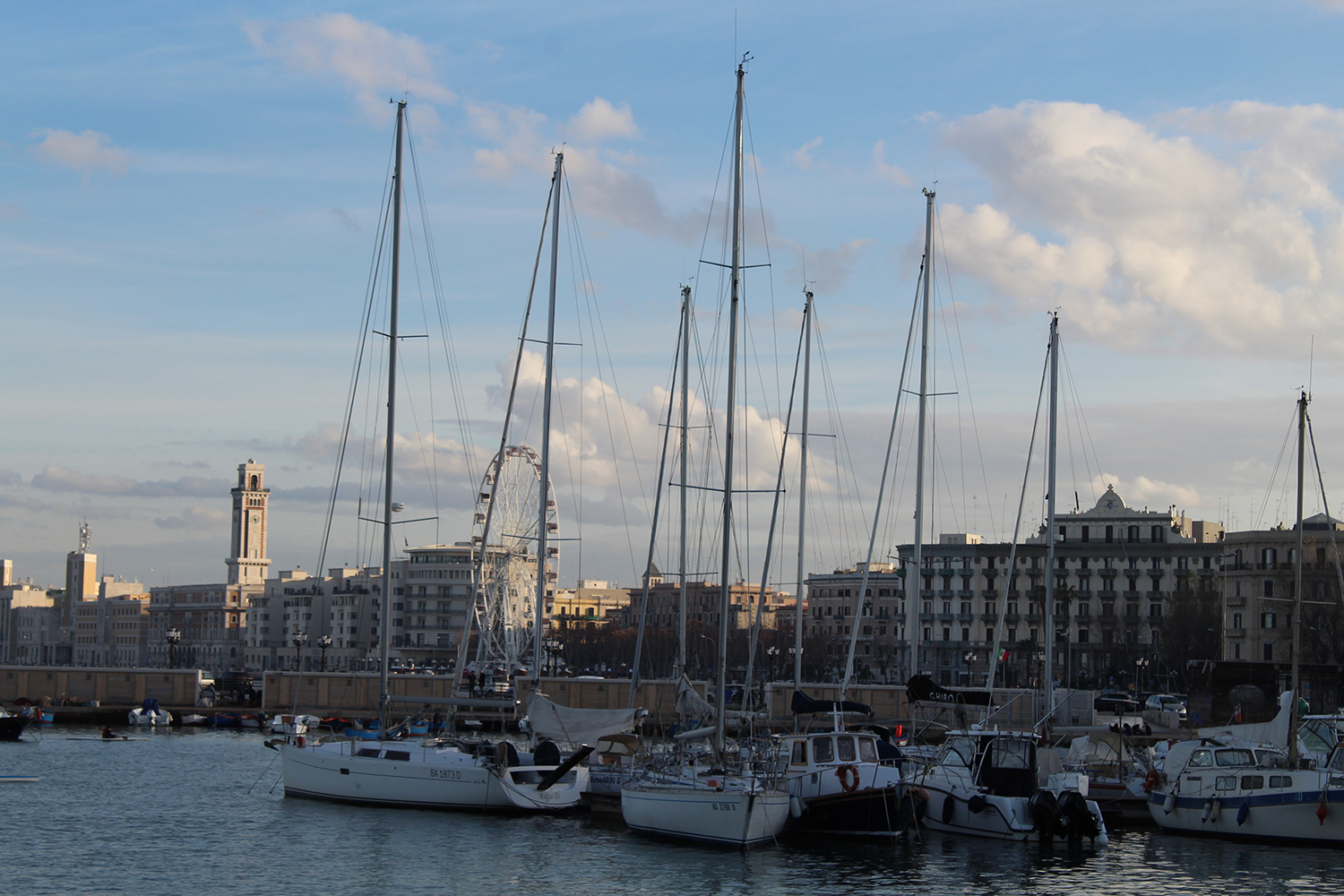 port of Bari, Puglia