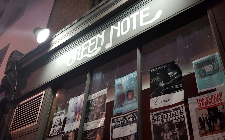 Green Note Jazz venue