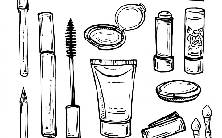 Makeup illustration by Pinchuk Oleksandra via Shutterstock