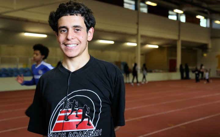 Picture of GB Athlete Amar Aichoun