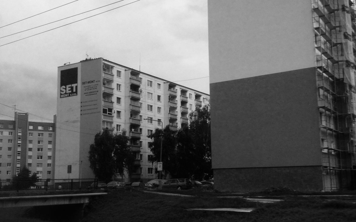 Eastern Bloc style social housing