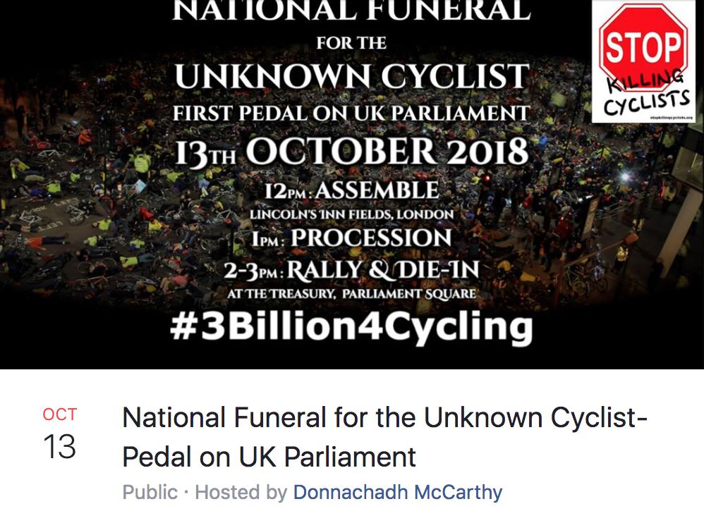 Die-In Protest Event [Facebook]