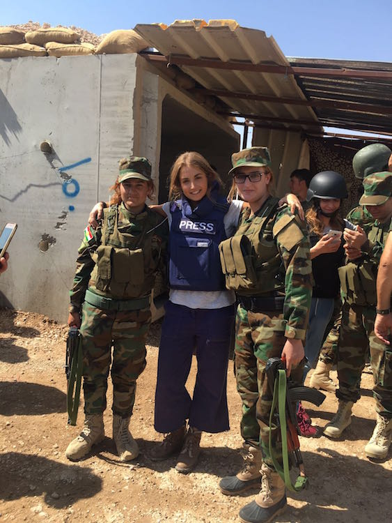 Helen and the Yazidi all-women battalion