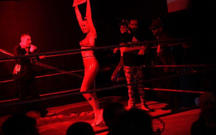 Ring Girl at Lucha Britannia