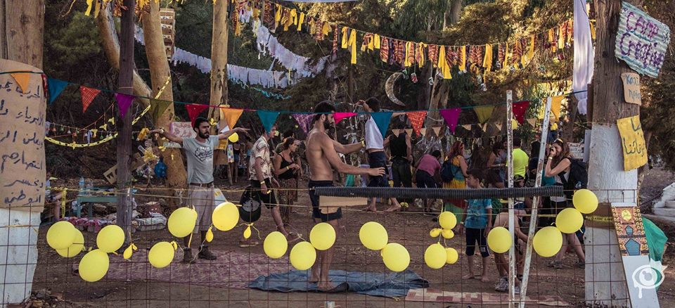 Yellow Days fundraising event in Leros, Greece