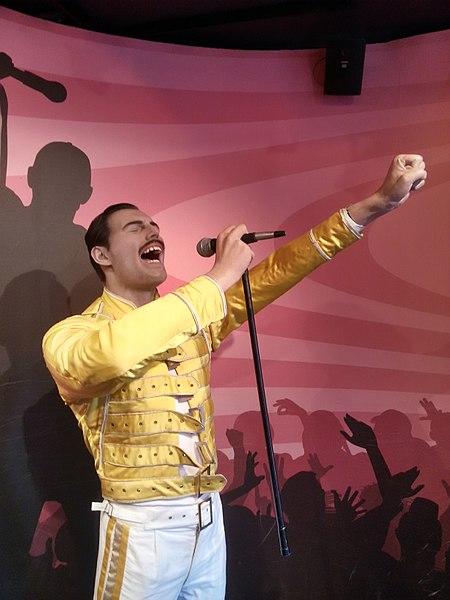 Freddie Mercury Madame Tussauds