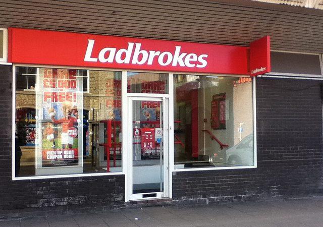 A London branch of Ladbrokes.