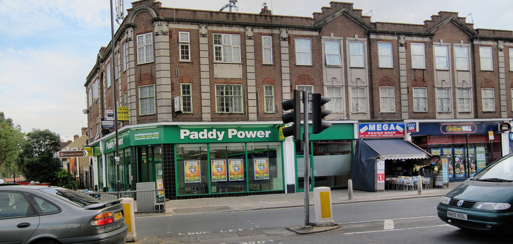 A Paddy Power and William Hill on the same high street.