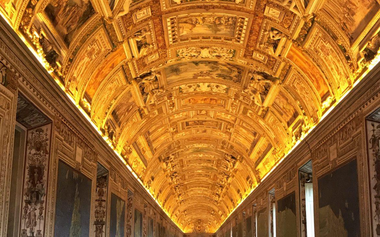 The Vatican interior