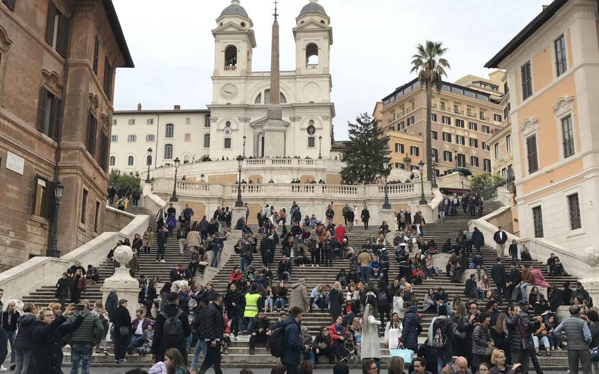 Photograph of the Spanish Steps