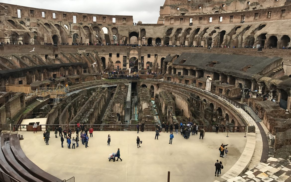 The Colosseum stage