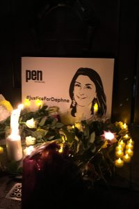 Daphne Caruana Galizia's Vigil