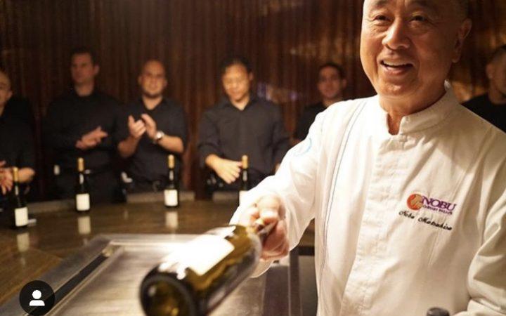 Chef at Nobu Las Vegas