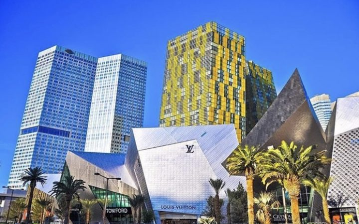 High end shopping mall in Las Vegas