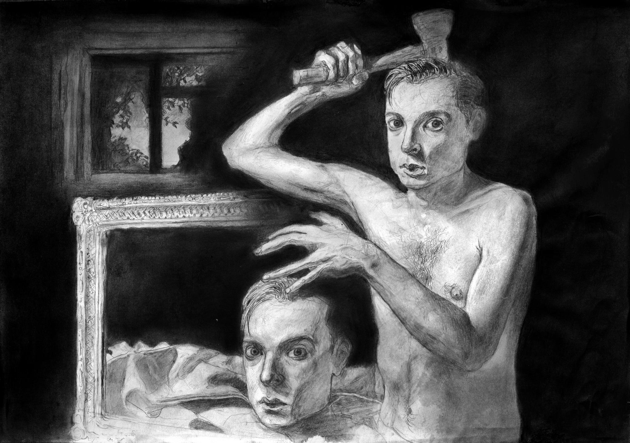 Illustration of identical twins