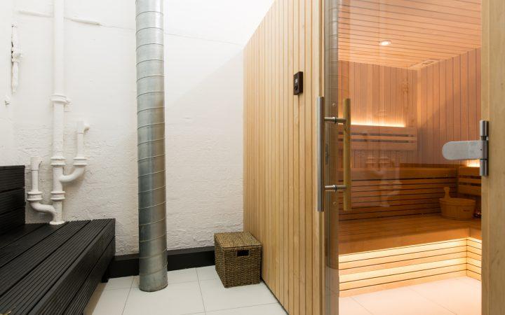 TransferWise's Sauna