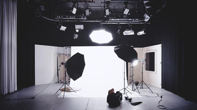 photoshoot set