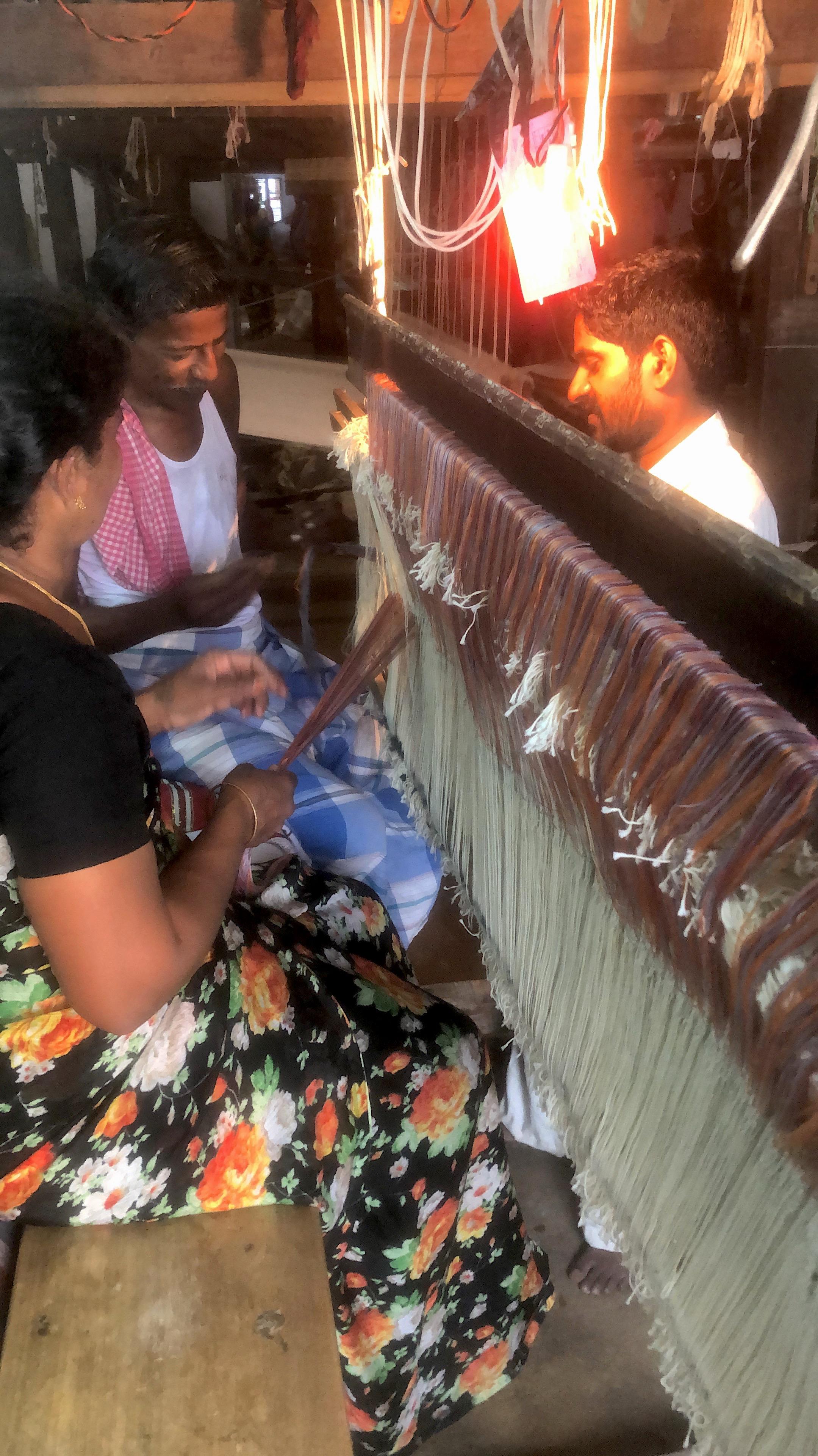 hand weavers