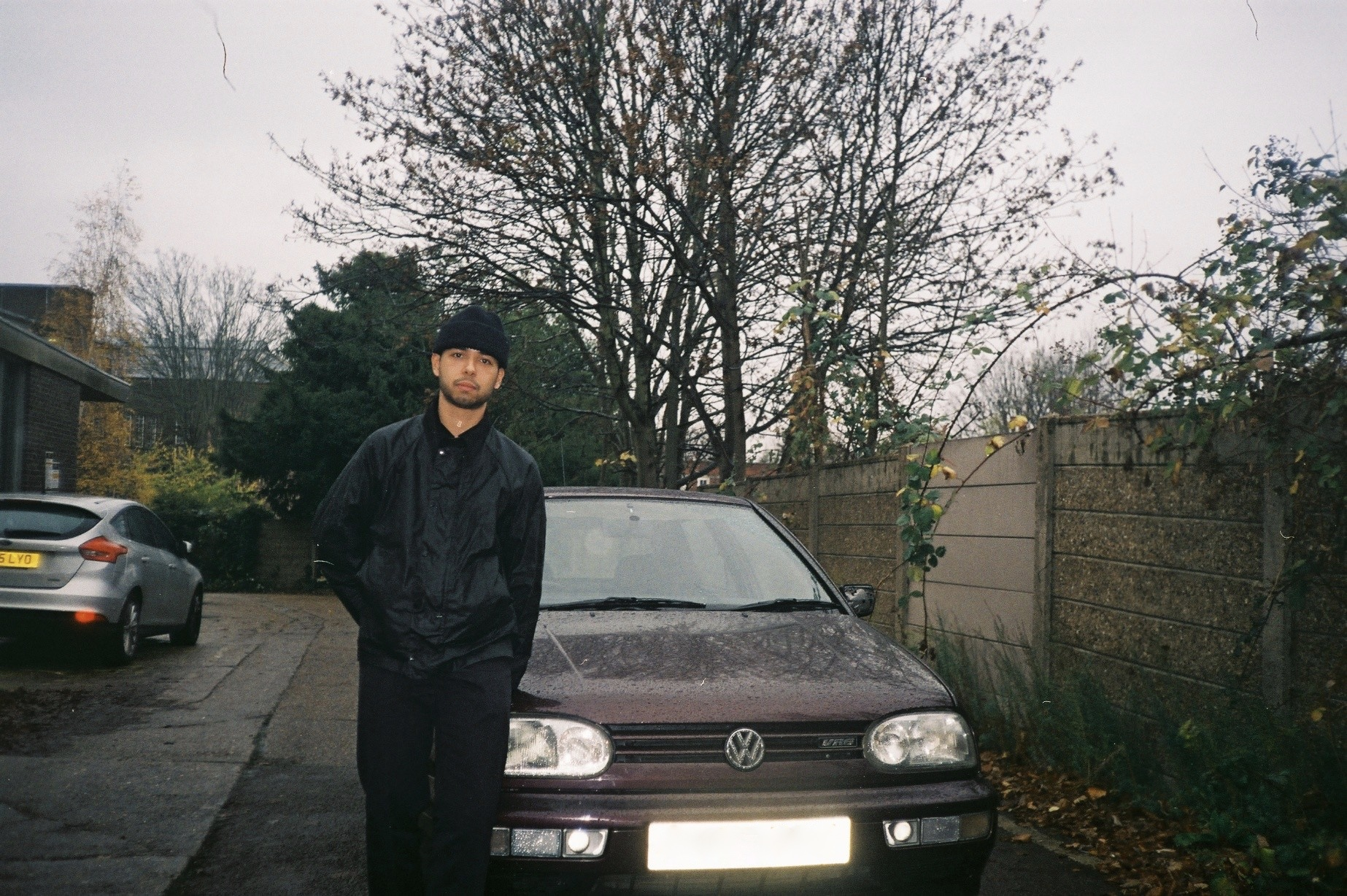 Jake with his Purple Golf Mk3