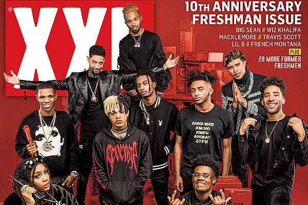 XXL magazine freshman 2017 cover