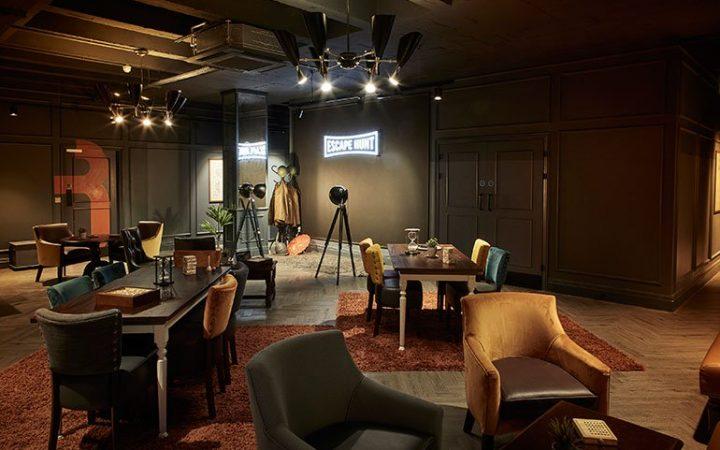 Photograph of Escape Hunt lounge