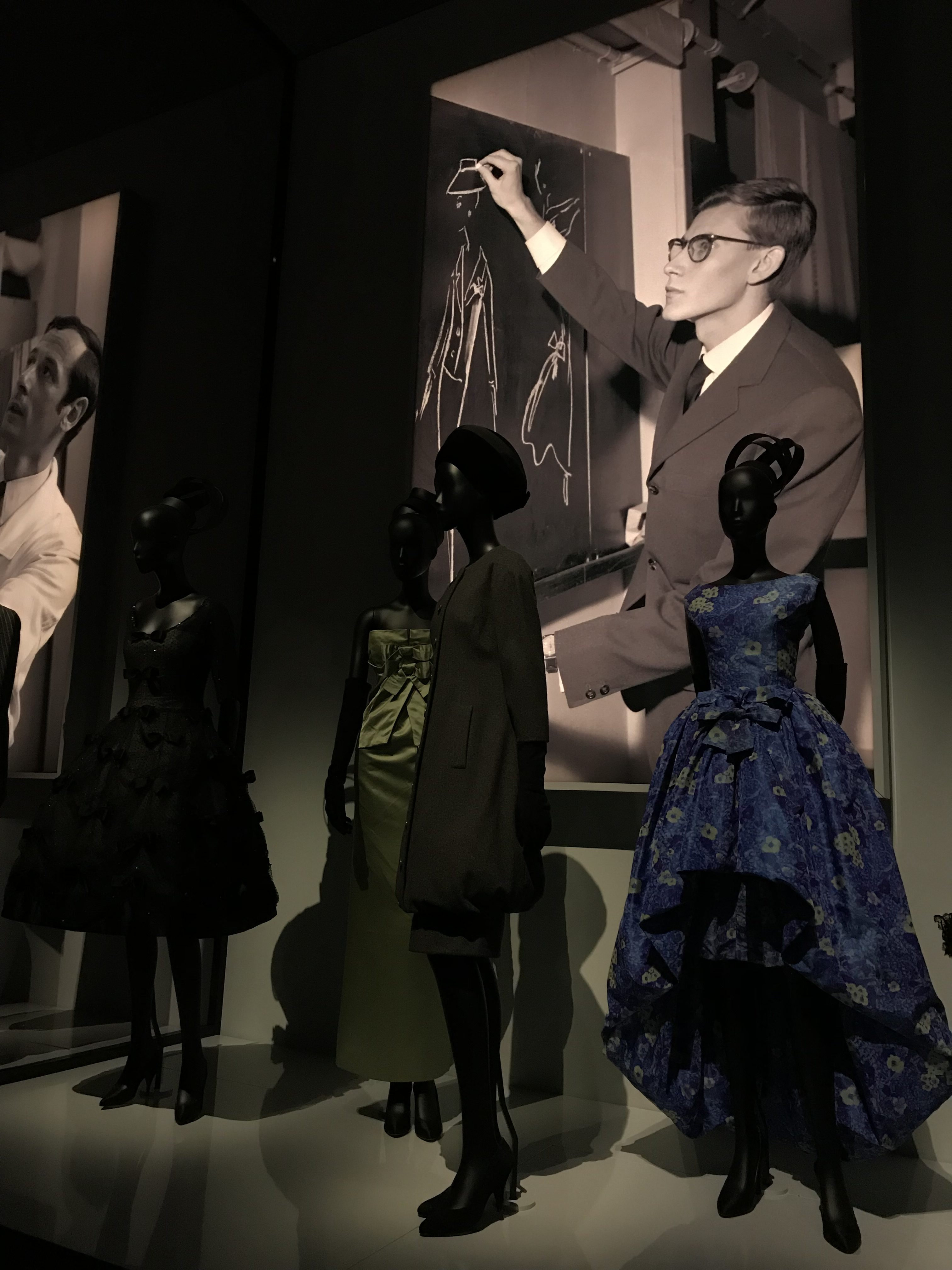 Saint Laurent - Christian Dior exhibition