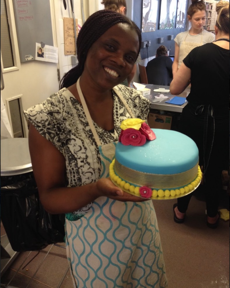 halimot with cake