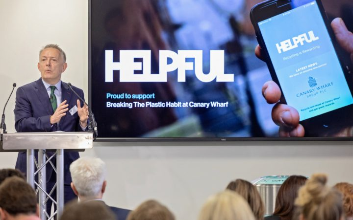 Launching The Helpful App Beaking The-Plastic Habit Breakfast Briefing
