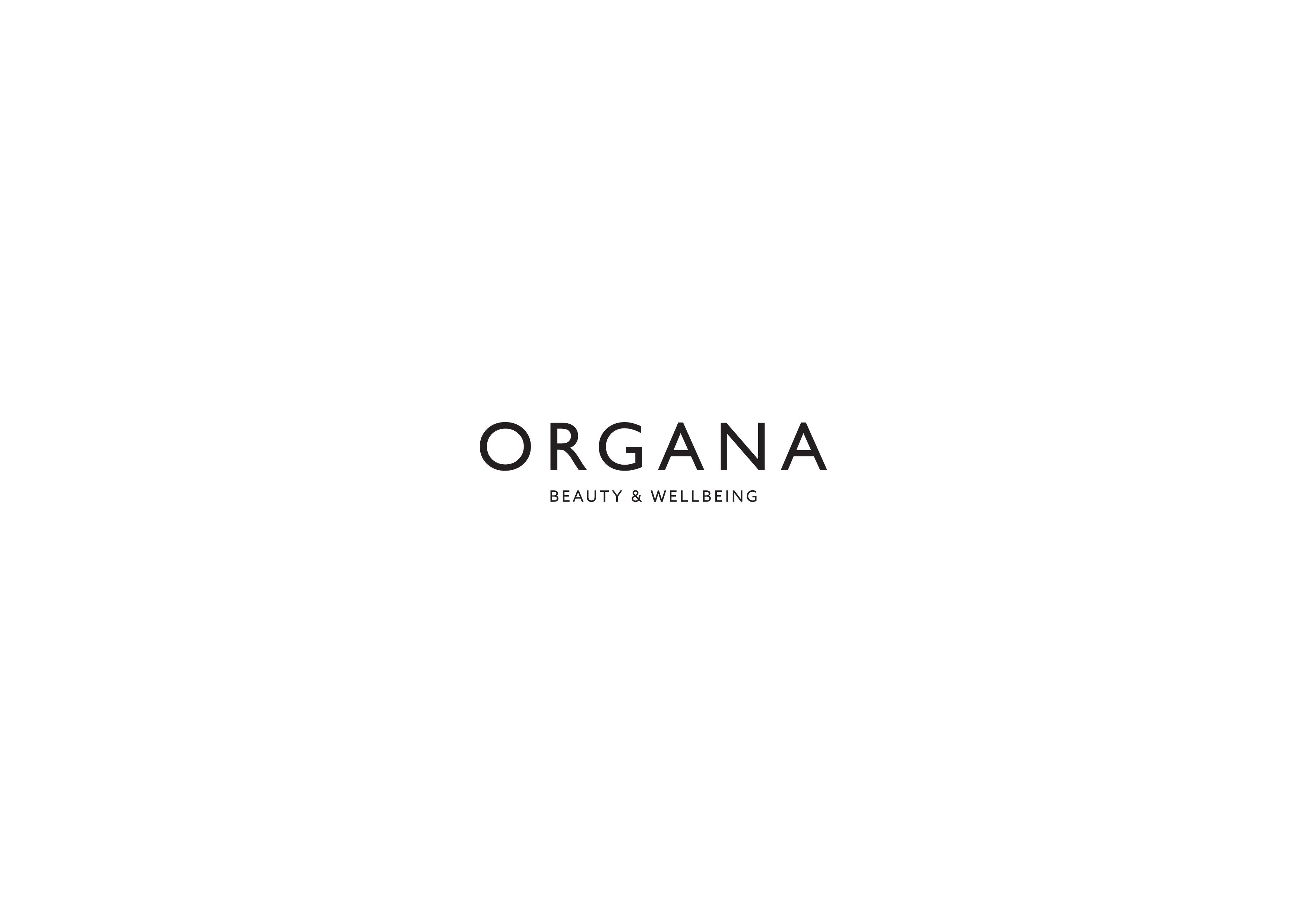 Organa logo on a white background