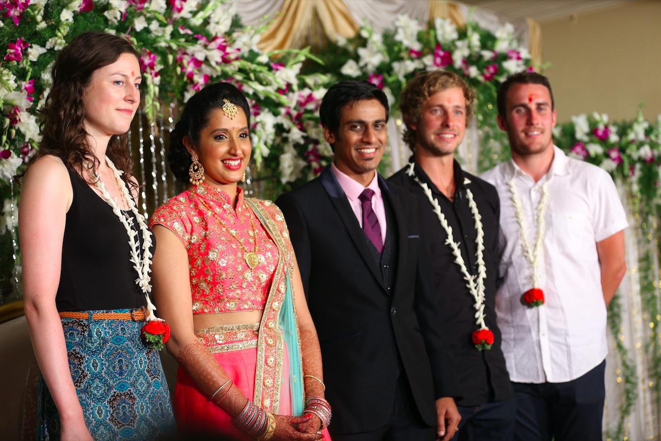 Tourists at a wedding (Tina Murton)