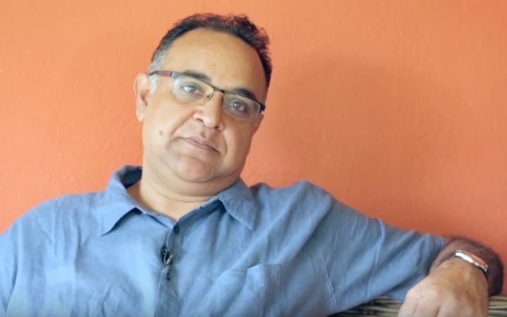 Pratik talking about the app