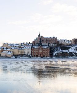 Photograph of Stockholm landscape