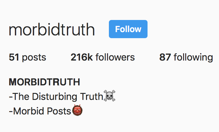 morbidtruth on Instagram