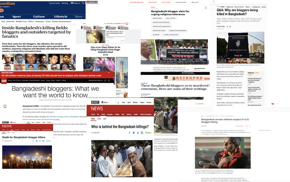 Bangladesh Bloggers News Coverage