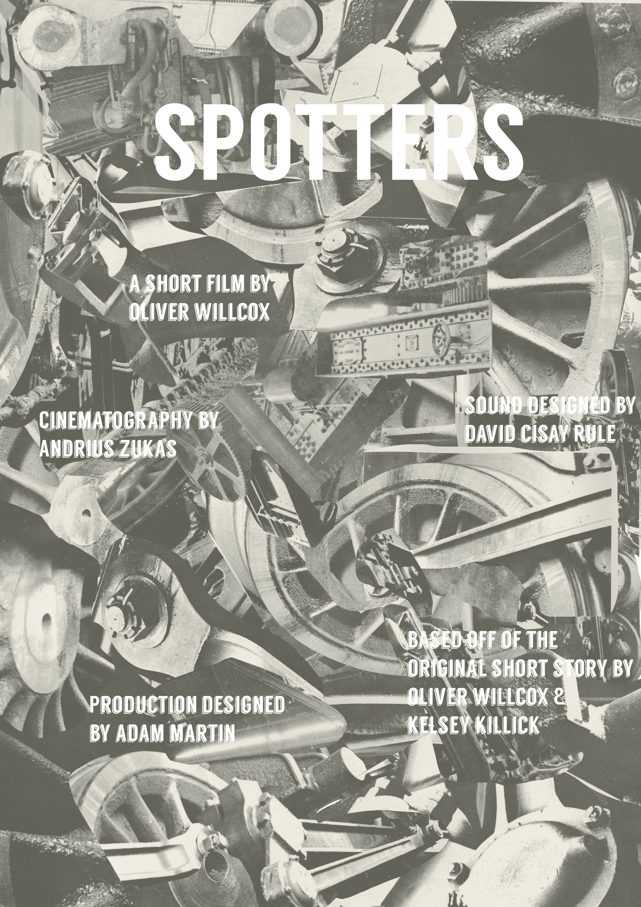 'Spotters' Film Poster. Designed by Oliver Willcox